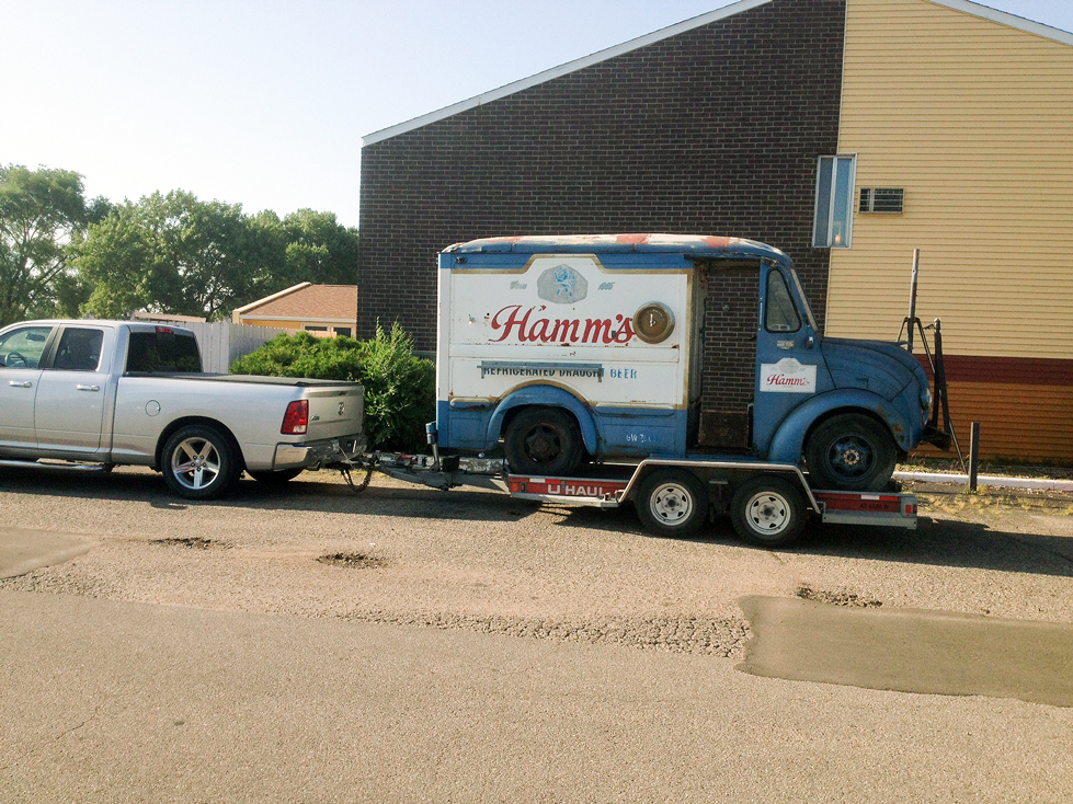 The Social Luxury of Beer: My Tale of the Hamm's Beer Truck
