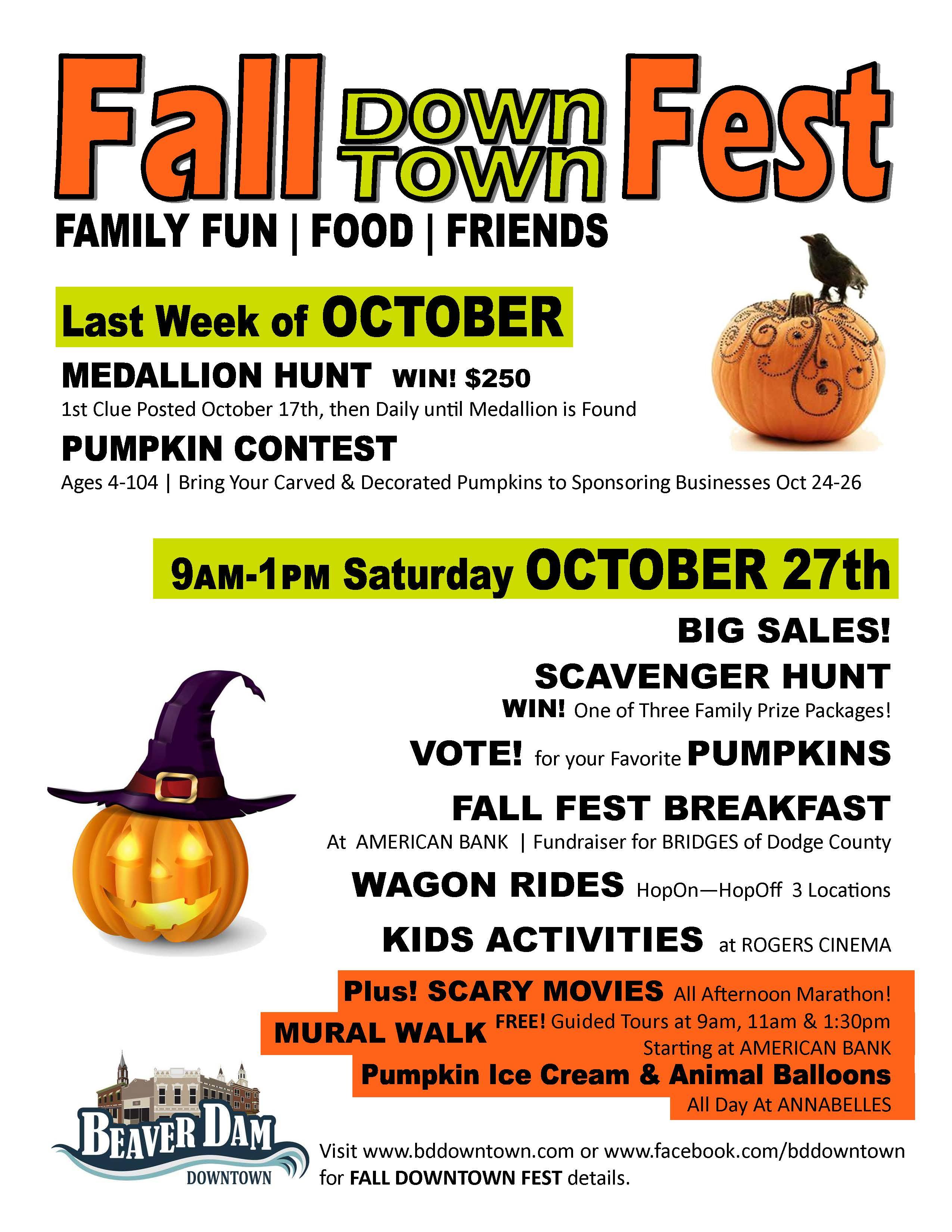1st Annual Downtown Beaver Dam Fall Fest Localeben Magazine
